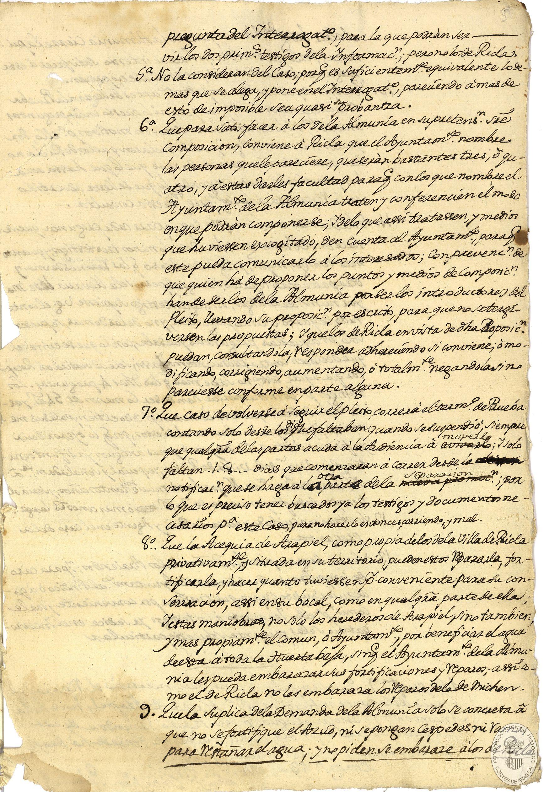 Fondo Documental Histórico de las Cortes de Aragón > Consulta con el ...